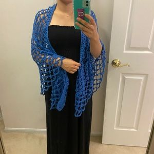 Crochet cover up. One size